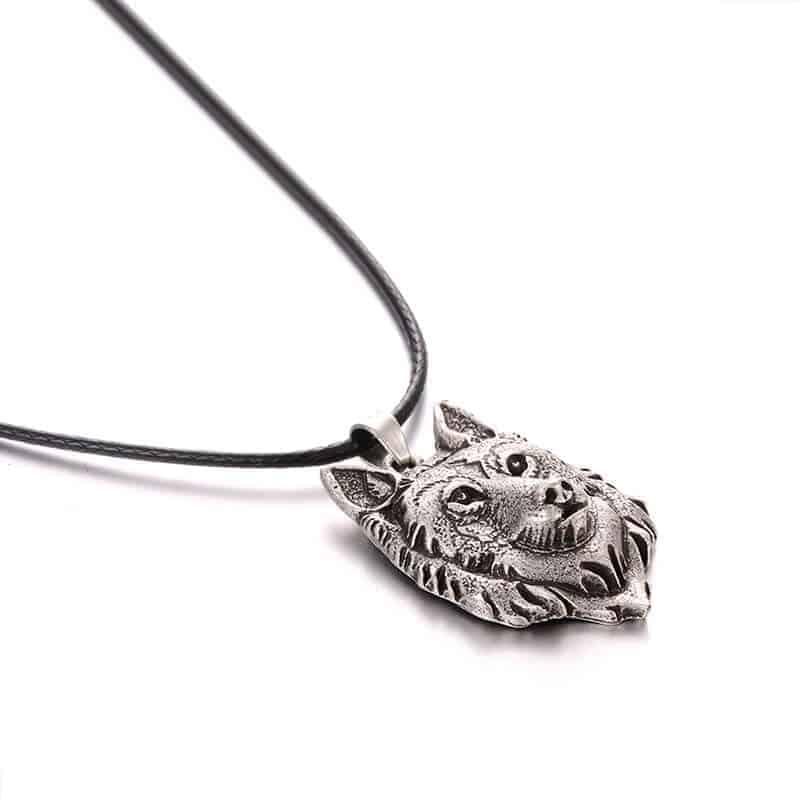 nakit za moške verižica volk
