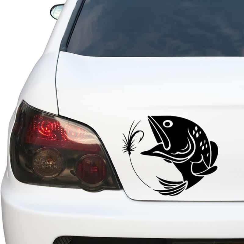 nalepka za avto ribolov na ribo