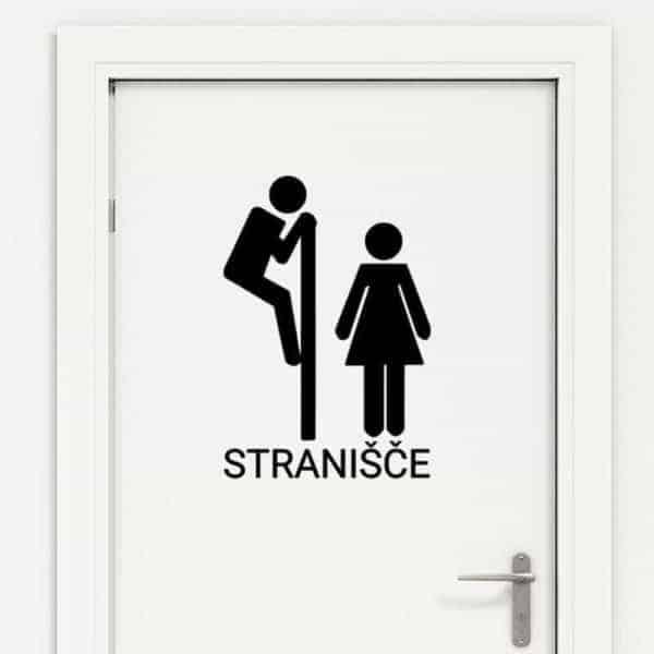 nalepka za stranišče