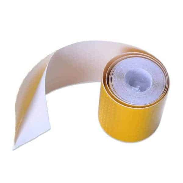 odsevni trakovi za vozila rumena barva