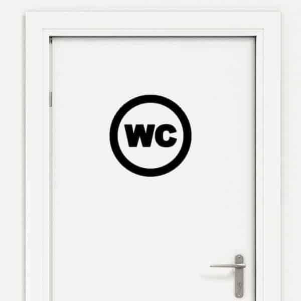 oznaka za wc vrata