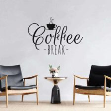 stenska nalepka coffee break