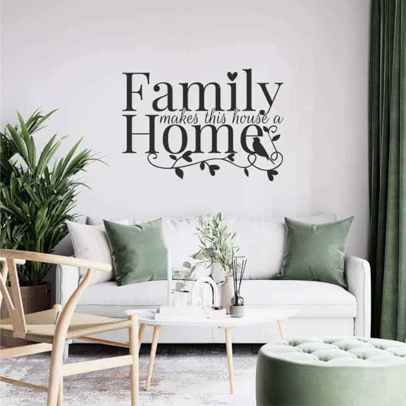stenska nalepka family makes