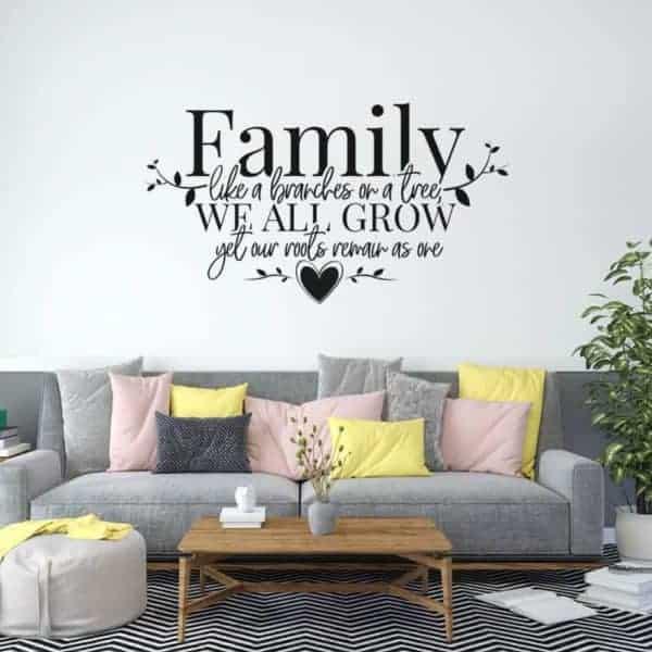 stenska nalepka family we all grow