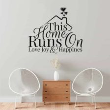 stenska nalepka home runs on love