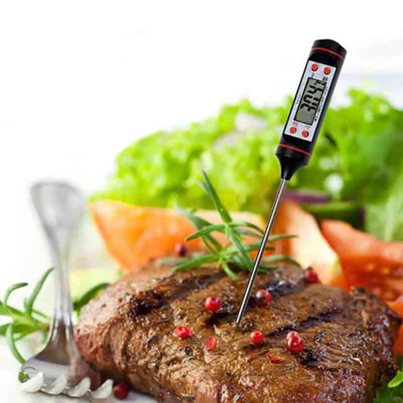 univerzalni termometer za hrano uporaba