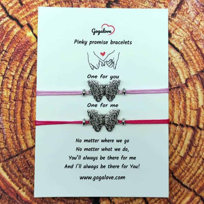 Zapestnica metulj za pare
