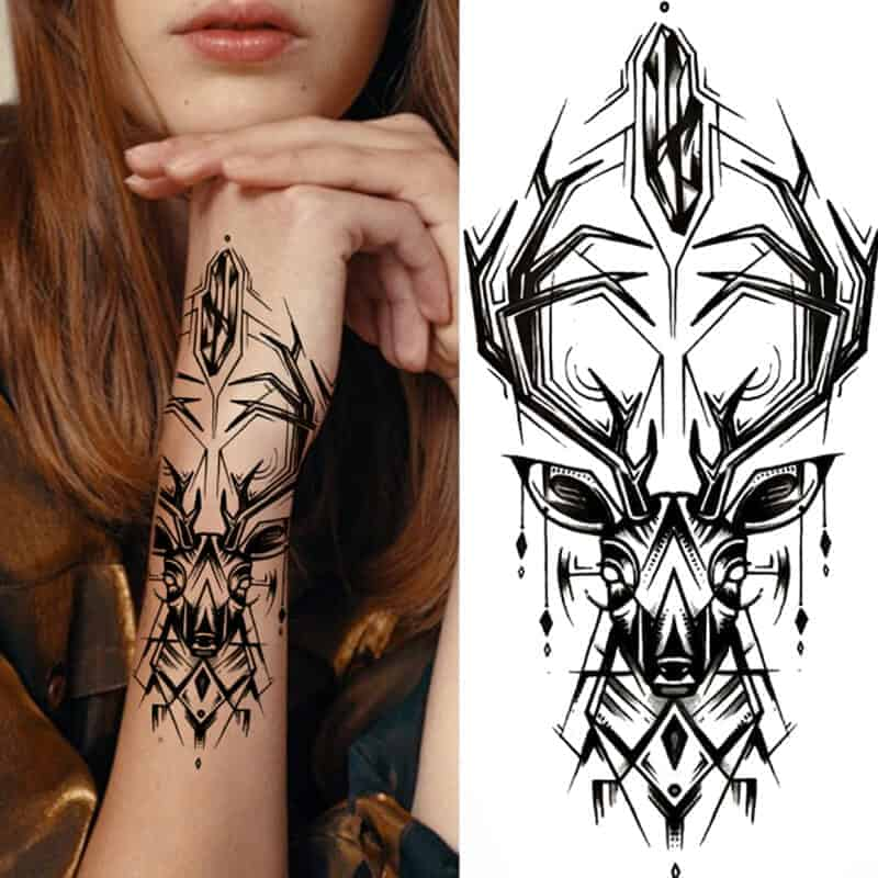 Tattoo začasni JELEN svobode 1