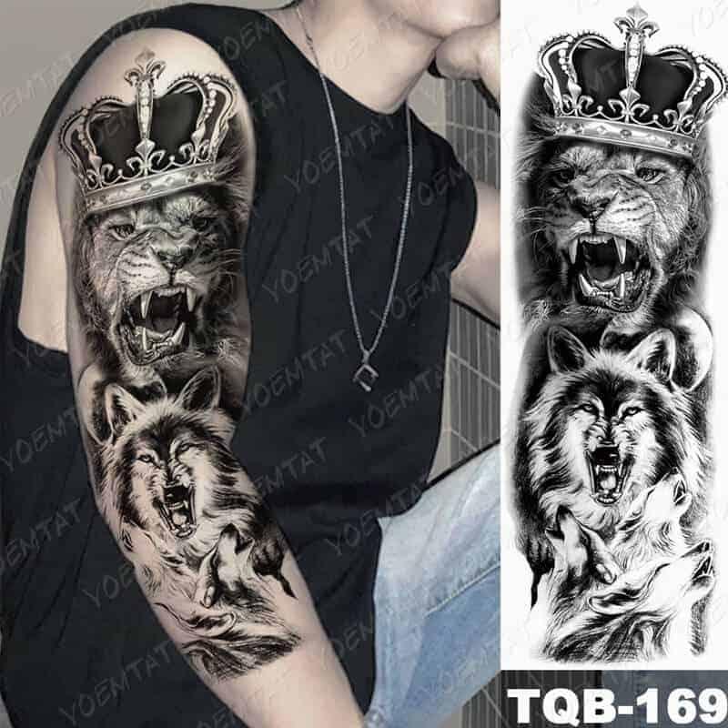 Začasni tattoo VODJA