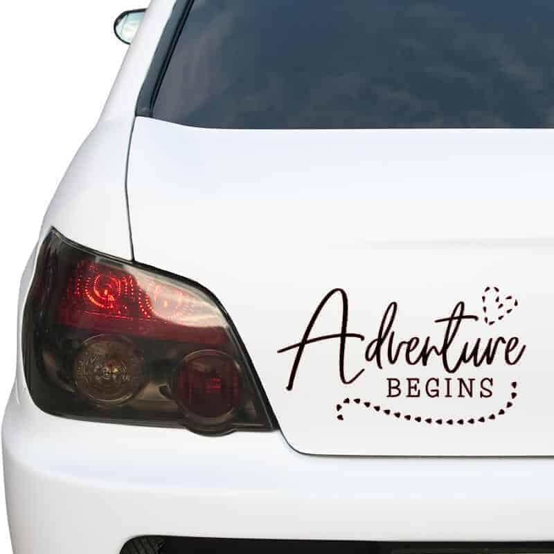 avtokamp nalepka adventure
