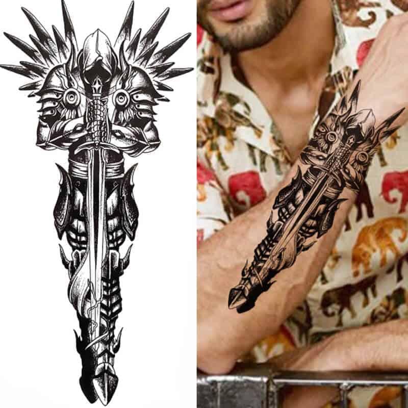 guardian začasni tattoo