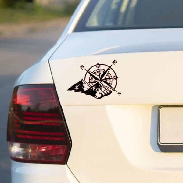 nalepka kompas za avtodom