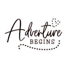 nalepka za prikolico adventure