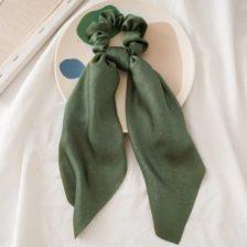 Elastika za lase Zelena