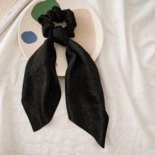 Elastika za lase moderna črna