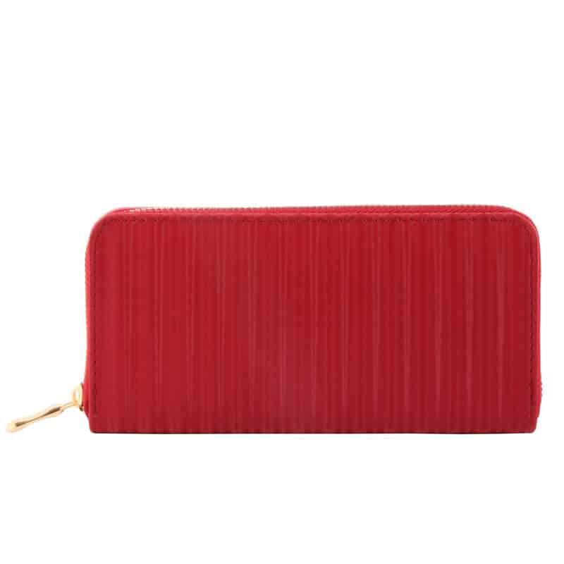 Klasična ženska denarnica rdeča