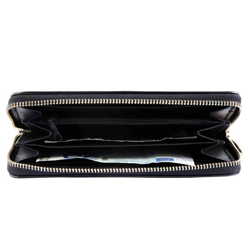 Ženska denarnica Classic črna barva