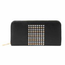 Ženska denarnica s kovinskimi detajli