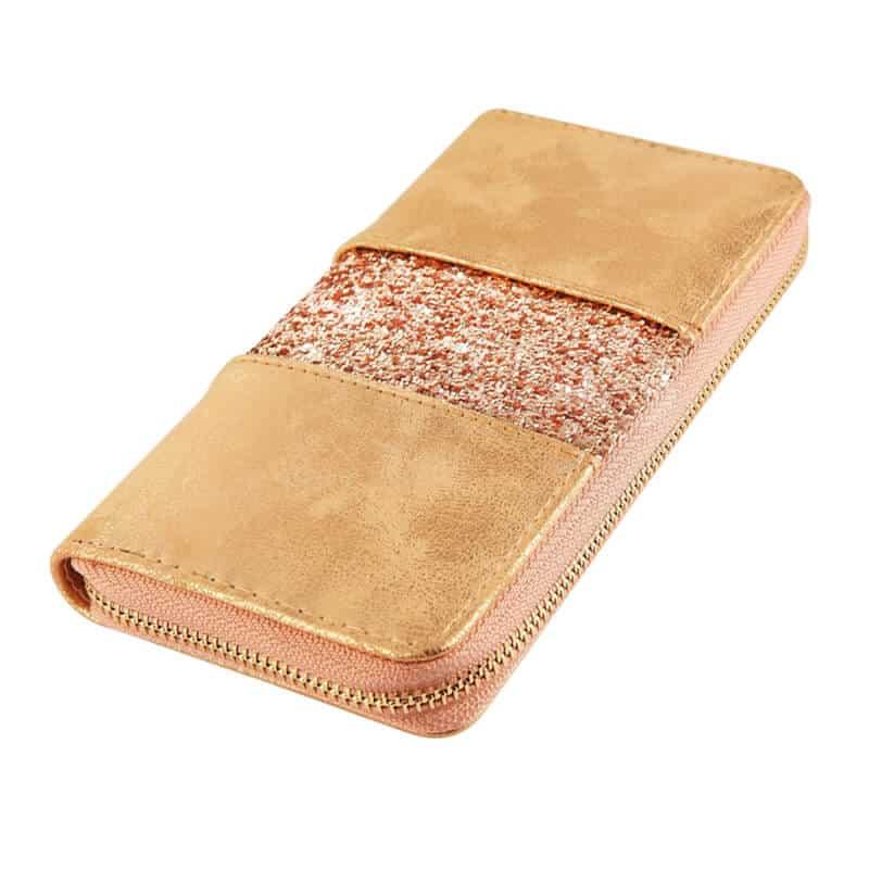 Ženska denarnica z bleščicami Moderna denarnica