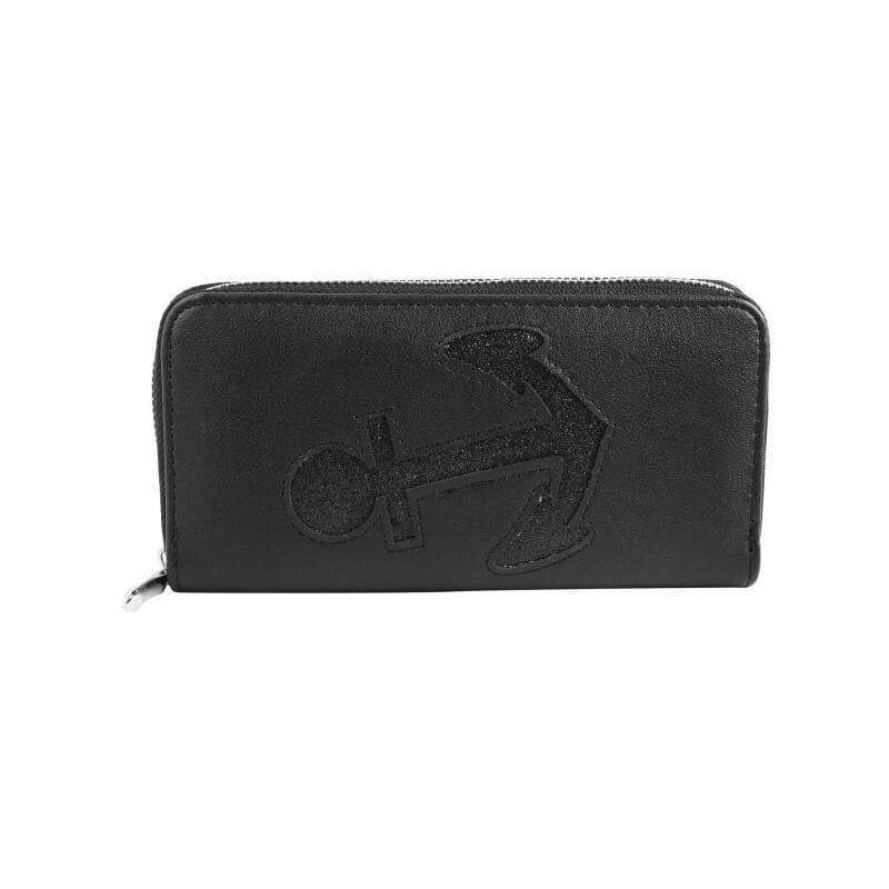 denarnica sidro črna