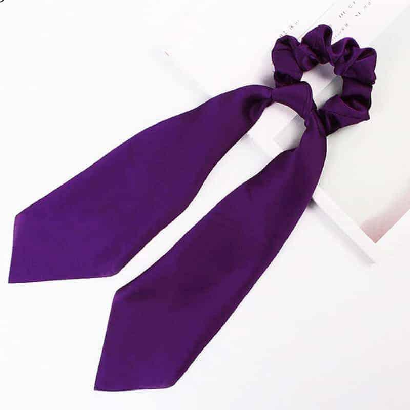 elastika za lase Vijolična