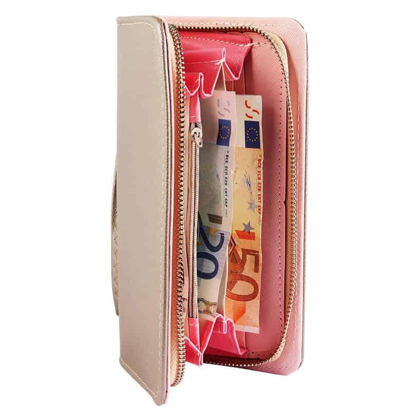 elegantna ženska denarnica velikost