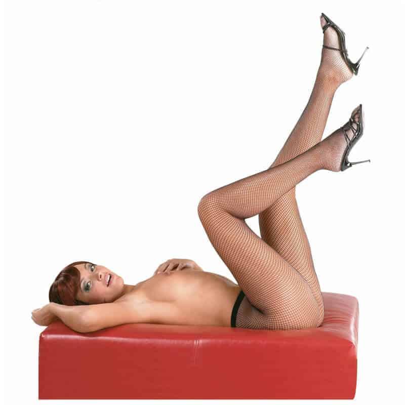 mrežaste erotične nogavice