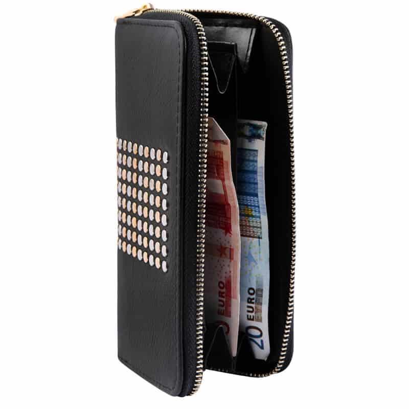 ženska denarnica črna barva