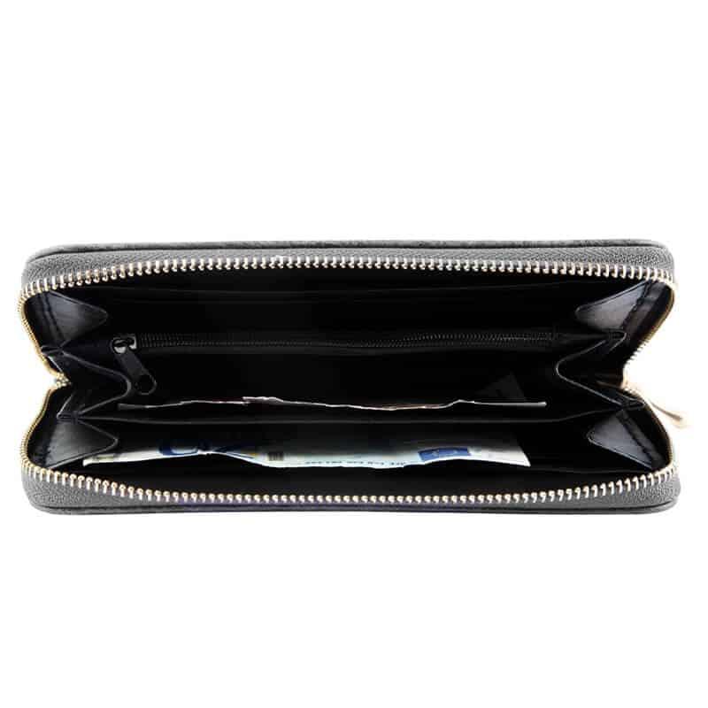 ženska denarnica siva barva