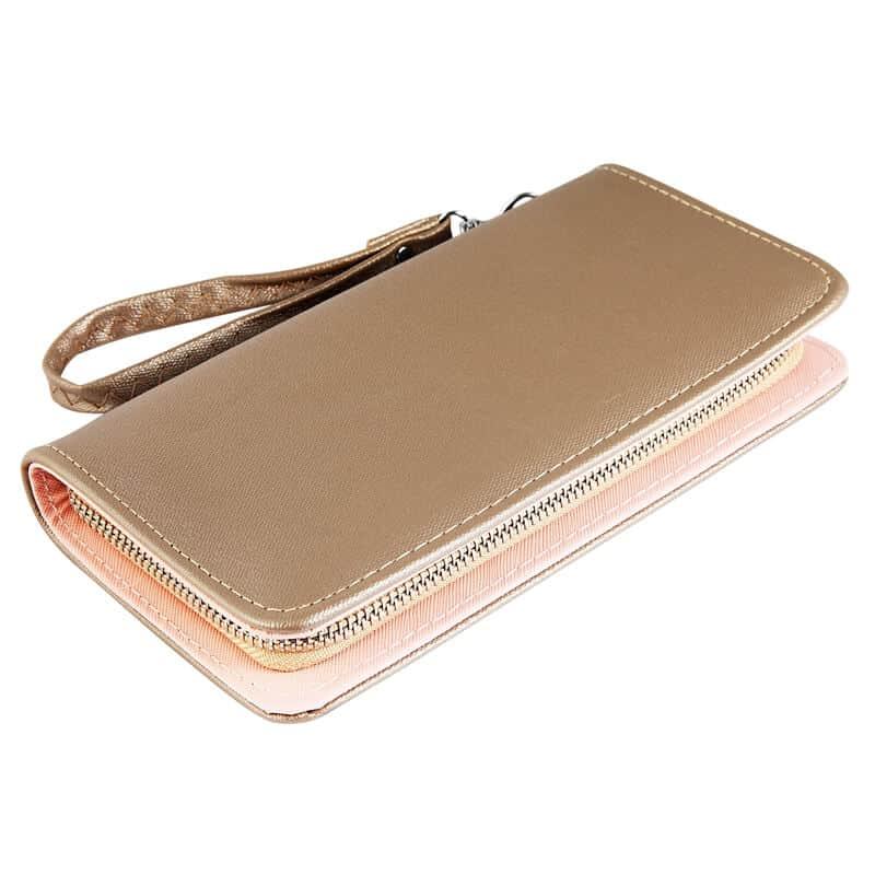 ženska denarnica zlata barva