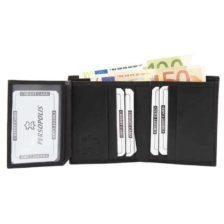 Moška denarnica Persopolis Lux črna barva