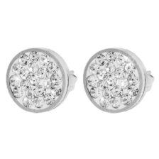 Vtični uhani AKZENT z diamanti