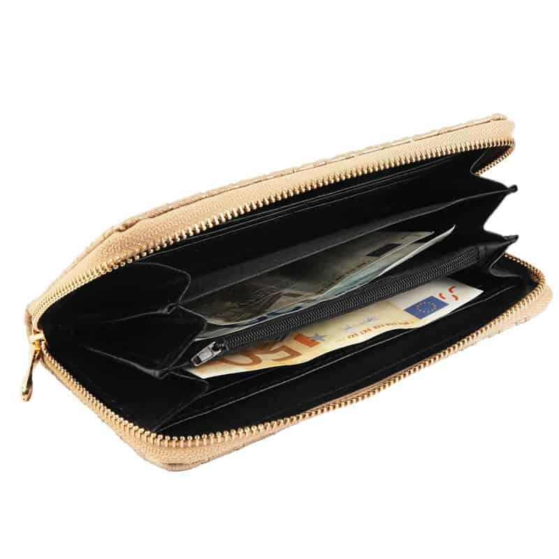 Ženska denarnica GOX Zlata barva
