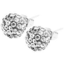 uhani diamantna krogla